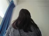 パサパサ髪