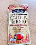 ユーワの『SUPER COMBUCHA』を試させて頂きました。..綺麗の菌活ダイエットサプリメント☺️海外でもセレブの方にも人気みたいです✨..○成分発酵紅茶エキス 1000m…のInstagram画像