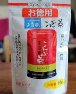玉露園の「お徳用こんぶ茶」をモニターしています。通常50g入りですが、こちらはその倍近い95g入り。たっぷり使うことができます。そのまま飲んでもよし、お料理に使ってもよし、用途いろいろ。食…のInstagram画像