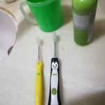 家族で使ってます💞なかなかいいよ。#アイオニック #歯ブラシ #マイナスイオン #イオン歯ブラシ #歯周病 #monipla #ionic_fanのInstagram画像