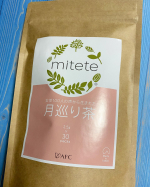 mitete女性100人の声から生まれた月巡り茶妊活中の悩みをサポートしてくれるオリジナルブレンドティー😊クセがないから飲みやすくて…のInstagram画像