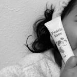 大豆一粒分の量をきになるところにくるくる塗り込むだけの子供にも使える顔のウブ毛専用抑毛美肌ジェルクリーム🍑お試しさせていただきました✨✴︎無香料で塗りやすいしけっこうサラッとしてるから巴瑠も嫌…のInstagram画像