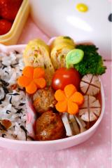アサムラサキ カリカリ梅ひじきのお弁当の画像(5枚目)