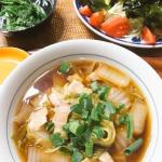 亡き母がよく作っていた汁そば。世間の汁そばとは違うけど我が家ではこれが汁そばでした。いまだに冬場は食べたくなる汁ものメニュー。#monmarche #野菜をmotto #野菜をもっと #スープ…のInstagram画像
