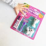 カラフルmyペット ブラシでおせわセットbyドリームブロッサム可愛い猫ちゃんにお絵かきして自分のオリジナル猫ちゃんに変身🎶😺 お人形にペンで描くことなんて今まで許されたことなかった…のInstagram画像