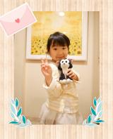 *5歳の娘のコーデ 女の子らしく レース使いのトップスが主役♪*の画像(1枚目)