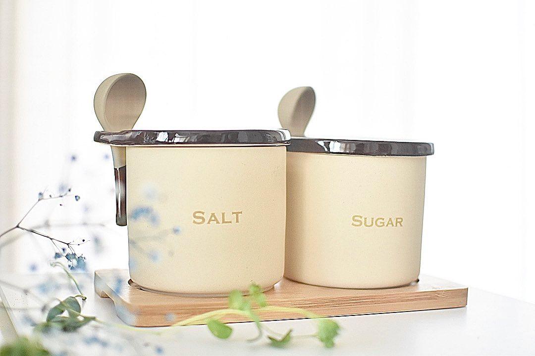 口コミ投稿:🌱ㅤㅤㅤㅤㅤㅤㅤㅤㅤㅤㅤㅤㅤSugar & Salt pot を新調しました♡ㅤㅤㅤㅤㅤㅤㅤㅤㅤㅤ…