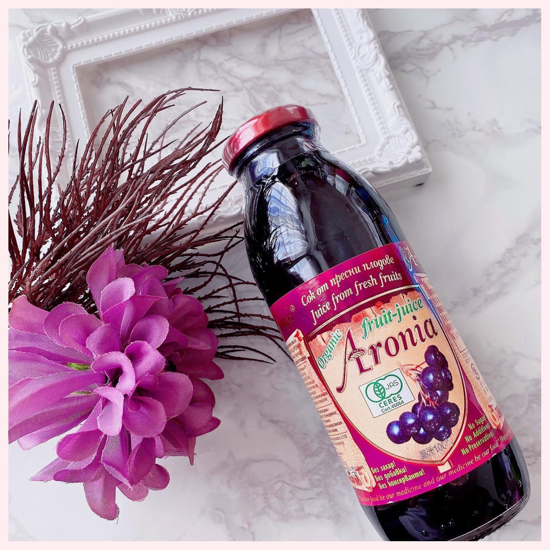 口コミ投稿:🌸有機アロニア 100%果汁🌸 ブルガリアからやってきたすごい果実アロニアってご存じ…