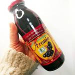 アロニア100%果汁を飲んでみました!アロニアは北米原産のフルーツ抗酸化作用が高く、ポリフェノールとアントシアニンがブルベリーの5倍もあるスーパーフードなんです♡砂…のInstagram画像