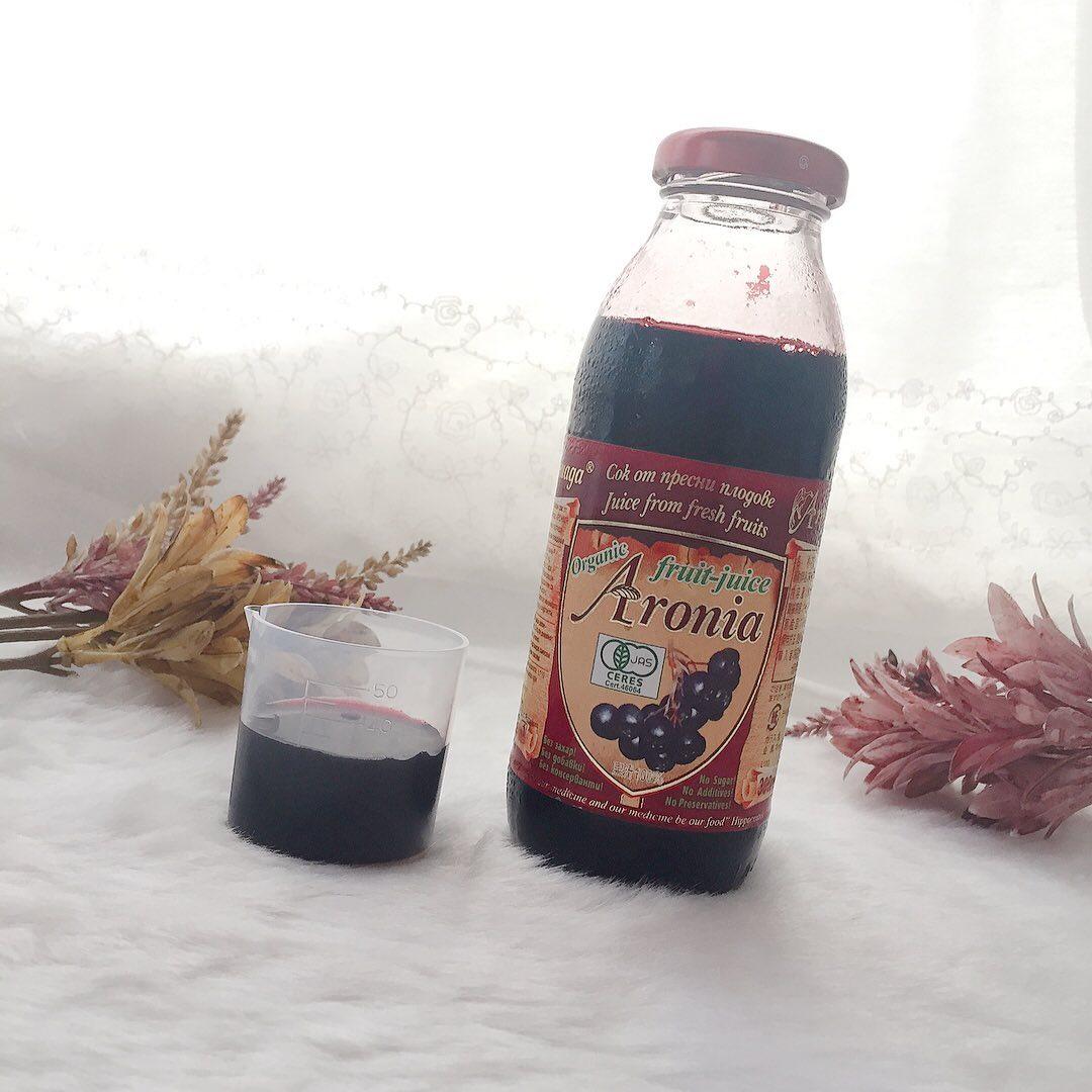 口コミ投稿:♡有機アロニア100%果汁 ♡.天然ポリフェノールがぎゅ〜っと凝縮したメディカルフルー…
