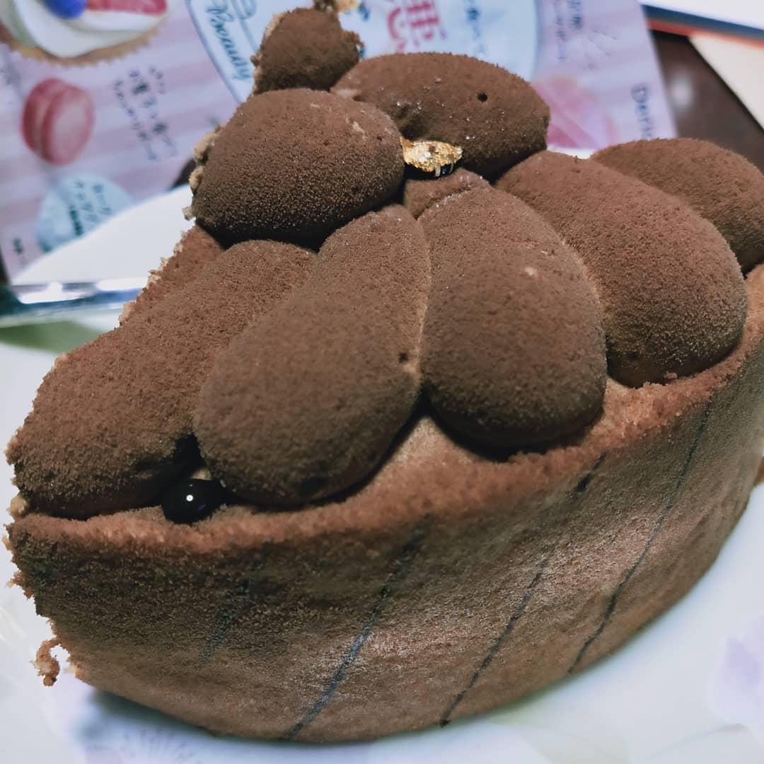 口コミ投稿:なぜか父が突然ケーキをくれたのだよ。しかも夜に笑いつもながら朝食べようと思った…