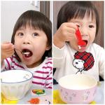 .大きなお口でほおばる子どもたち🤣🤣🤣すごい顔〜〜〜😂.子供たちが食べているのは私も大大大好きな〝クリーミーカスタードバニラヨーグルト〟🥄本当によく購入しています😁ヨーグル…のInstagram画像
