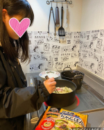 カテゴリー#モニター商品**キンレイ様よりいただきました!なべやき屋ちゃんぽん麺4食セット!お水がいらないちゃんぽん麺!**子供でも簡単に作れる(●︎´▽︎`●︎)…のInstagram画像