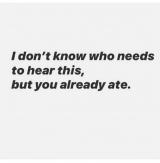 「eat, pray and eat again。」の画像(1枚目)