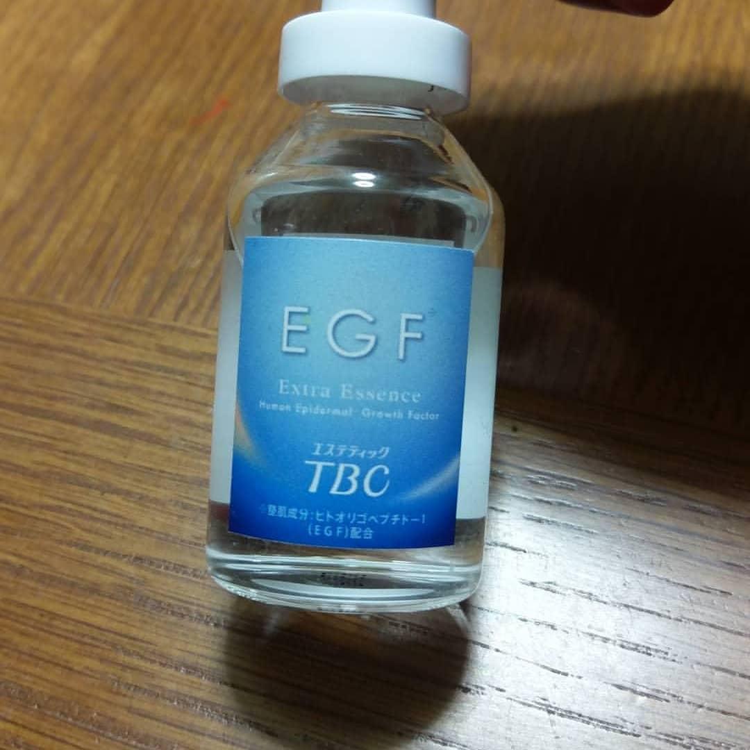 口コミ投稿:#TBC #TBCEGFエクストラエッセンス #TBCコスメ #美容液 #エイジングケア #monipla #t…