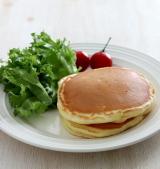 「かわいいフライパン「ビタクラフトライト」でパンケーキ」の画像(4枚目)