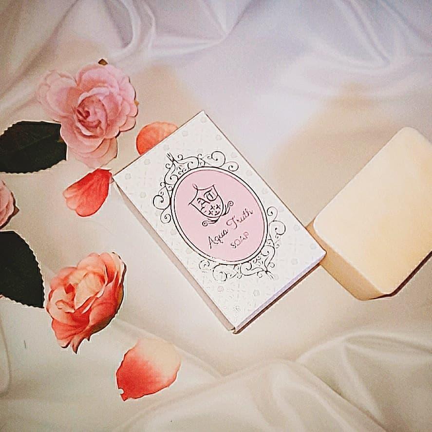 口コミ投稿:..麗凍化粧品さんの………〜🌹薔薇はちみつ石鹸🌹〜.挑戦してみたぜいっ(☝ ˘ω˘)☝ふー!!.…