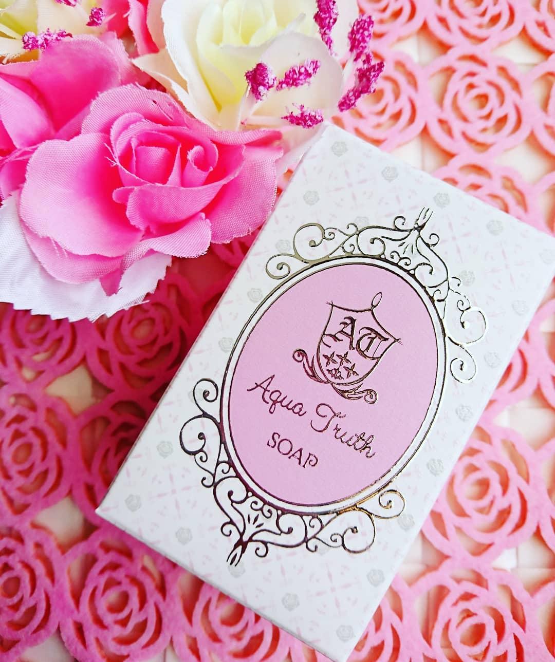 口コミ投稿:#アクアトゥルース株式会社#薔薇はちみつ石鹸お肌の潤いを守りながら心地よく洗い上…