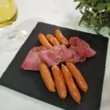 【潤いある場所】レンチンでウインナーを美味しく調理する方法の画像(2枚目)