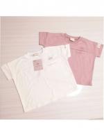 合同会社アーツクローズ様のアンパンマンTシャツ(キッズ服)をご紹介致します✩*⋆.春夏にピッタリなホワイトとくすみピンクに、胸元にちょこんとプリントされたアンパンマンが可愛らしいTシャツです(…のInstagram画像