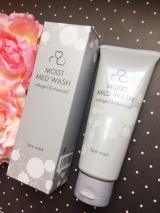 毎日の洗顔でお肌がうれしくなる♡ニッタバイオラボ モイストマイルドウォッシュの画像(2枚目)