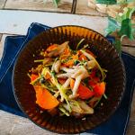 5分で副菜♪😋❤️温野菜で即効胡麻和え♪.モニター当選した、@liberalista.jpリベラリスタのコランダーを使用して、簡単な時短料理✨.こちらのコランダー、【ボウルとザル蓋…のInstagram画像