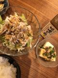 夏にピッタリ冷しゃぶサラダで味噌ポン酢!