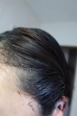 白髪染めとは違いヘアケアにこだわったヘアカラートリートメントです。の画像(9枚目)