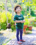 Coordination of son.先日の、お天気が良くてポカポカまるで夏みたいに暑い日☀️.息子は、相変わらずお庭で遊んでいます♡お庭の新緑が綺麗で癒される🌱.こ…のInstagram画像