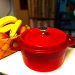 𓂃𓂃𓂃𓃟2020.05.19\無水鍋のある暮らし/ 私の愛用しているお鍋の中で現役だったストウブさん。長男が産まれた時にこのお…のInstagram画像
