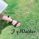 *・こちらは @joywalker_official 様のストラップウエッジソールサンダルです👡💕・-----*-----*商品説明*-----*-----・やわらかいソフ…のInstagram画像