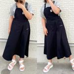 ⋆︎⋆︎娘コーデ。⋆︎コンバース様からジャンパースカートとTシャツを頂きました♡︎⋆︎サイズが160だったので私も着れそう...❤️⋆︎⋆︎ #コンバース …のInstagram画像