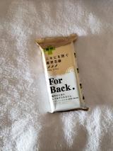 背中ニキビを防ぐ薬用石鹸 ForBack.の画像(1枚目)