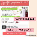 「当選1600円!高確率のわくわくスピードくじ【HABA×ECナビ】」の画像(1枚目)