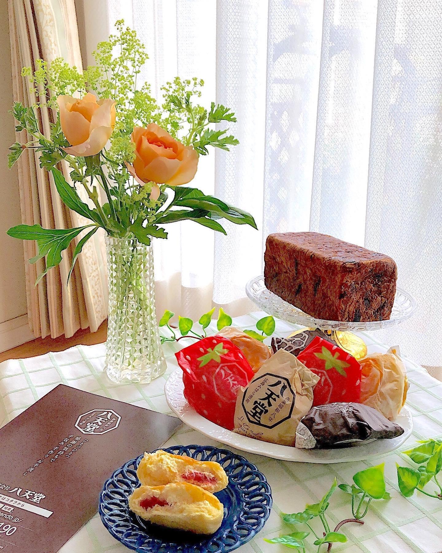口コミ投稿:こんにちは😃..#八天堂 さまから#プレミアムフローズンくりーむパン おたのしみBOXを…