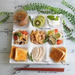 ---- お昼ごはん ----··@alaskaseafoodjapan さんから頂いた歯ごたえの良さが特徴のアラスカ産数の子で3種盛り ◎数の子お豆サラダ味付け数…のInstagram画像