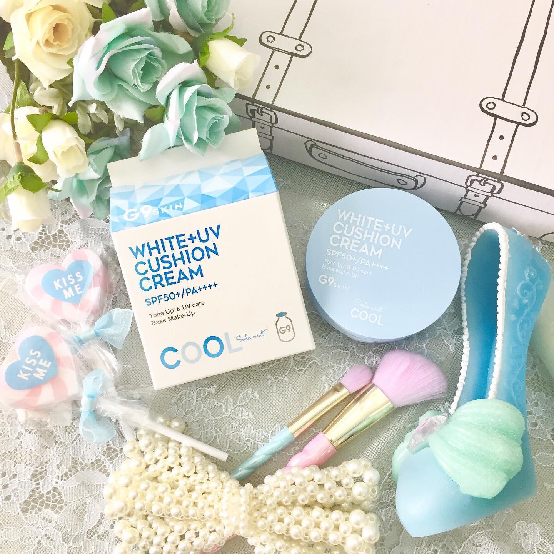 口コミ投稿: 9G WHITE + UV CUSHION CREAM夏限定&日本限定のG9 ウユ クッションを使ってみ…