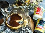 .作ってみたかったシリーズ#バスクチーズケーキいい感じの焼き具合😍🙌.生クリーム不使用クリーミーカスタードバニラヨーグルトを使ったのですがとても濃厚でカスタードの風味もしっかり…のInstagram画像