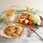 ---- BREAKFAST ----·· @furusato21_official と 青森県 SKOS合同会社さんの共同企画の冷凍パンアソートセットモニターさせていただいて…のInstagram画像