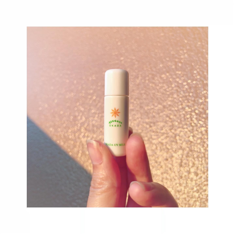 口コミ投稿:岡田UVミルクさんの日焼け止✨ノンケミカルの無添加日焼け止めだから子供のデリケー…