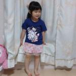 ♥ メッセージTシャツ ♥@nissen_kids_official様のメッセージプリントTシャツ☆お試しさせていただきました(^^)✨..身長93㎝位の長女10…のInstagram画像