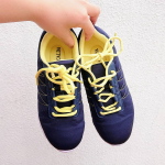 .たまには運動しなきゃな〜とお散歩のお供にNissenのスニーカー👟✨ㅤㅤㅤㅤㅤㅤㅤㅤㅤ超軽量スポーティースニーカーで履いていることを忘れそうなほど軽いの😍❤ㅤㅤㅤㅤㅤㅤㅤㅤㅤ…のInstagram画像