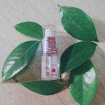 💚 💚 💚 【生の椿油】をモニターさせていただきました。 〈ジャポネイラさま 生の椿油 携帯用 15ml〉  日本の固有種であるヤブツバキの種のみを使用した、良質のこだわりの詰まったオイルです。.…のInstagram画像