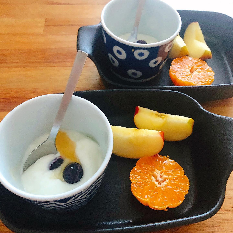 口コミ投稿:.今日の健康朝食🍽.ブルガリアのホームメイドのスターターキットを使って、初めて自家…