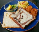 こんにちは♡♡ 今日のお昼ごはんは、@monipla_official 様に頂いた、@hattendo_official 様の『とろける食パン』♪♪ 焼かなくても、そのまま食べるorレンジで温めるで、…のInstagram画像