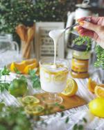 とろろ〜ん🎶伸びーる発酵乳ヴィーリ北欧生まれの新感覚乳製品でフィンランドでしか買えないんだって❗️そんなヴィーリを家庭で簡単に作れるよ〜😄✨…のInstagram画像
