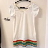 「【DIY】アップサイクルTシャツ!」の画像(3枚目)
