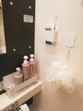 スッキリ清潔な浴室に。
