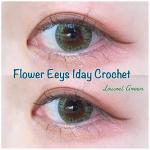 .Flower Eyes 1day Crochetcolour:Laurel GreenDIA:14.2mmBC:8.7mm着色直径:12.5mm…のInstagram画像