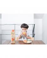 20200701.今朝の朝ごはんのオレンジジュースはキオスガーデンズ100%ストレートオレンジジュース ♩.エーゲ海にあるキオス島とギリシャの契約農家から仕入れたオレンジを…のInstagram画像